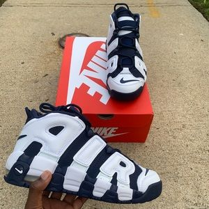 """2020 Nike Air More Uptempo """"Olympic"""""""